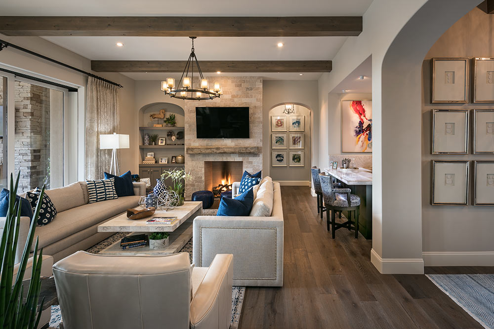 An Interior View Of A Home Created By DM DESIGN