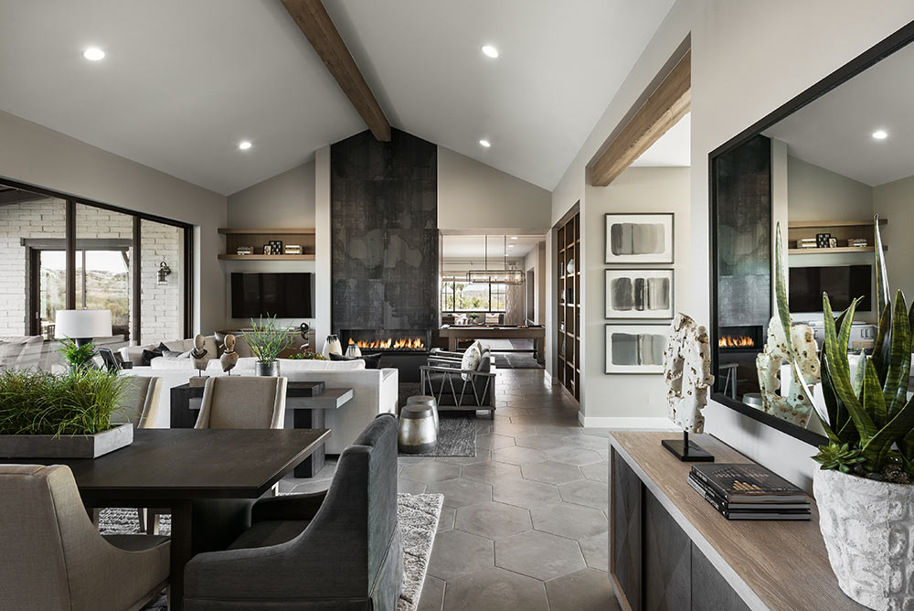 The Interior Of A New Model Home Located In Trilogy At Wickenburg Ranch For  CSE U0026 Associates.